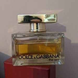 Dolce Gabbana the one mostly full